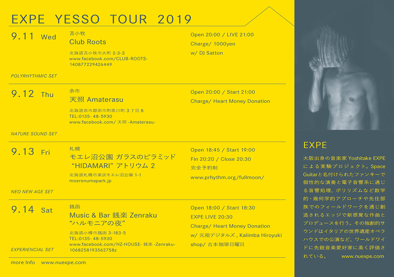 EXPE YESSO TOUR 2019